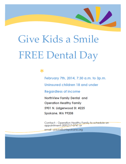 Free dental day