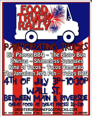 4th of july food truck rally