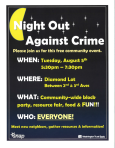 night out against crime