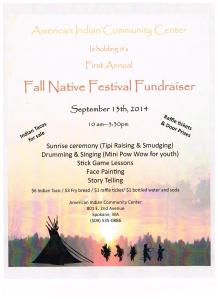 Fall Native Festival Fundraiser