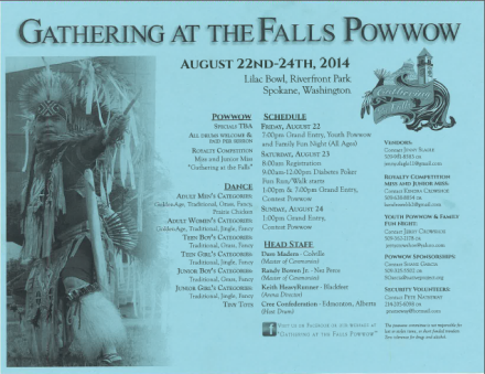 Gathering at the Falls Pow Wow