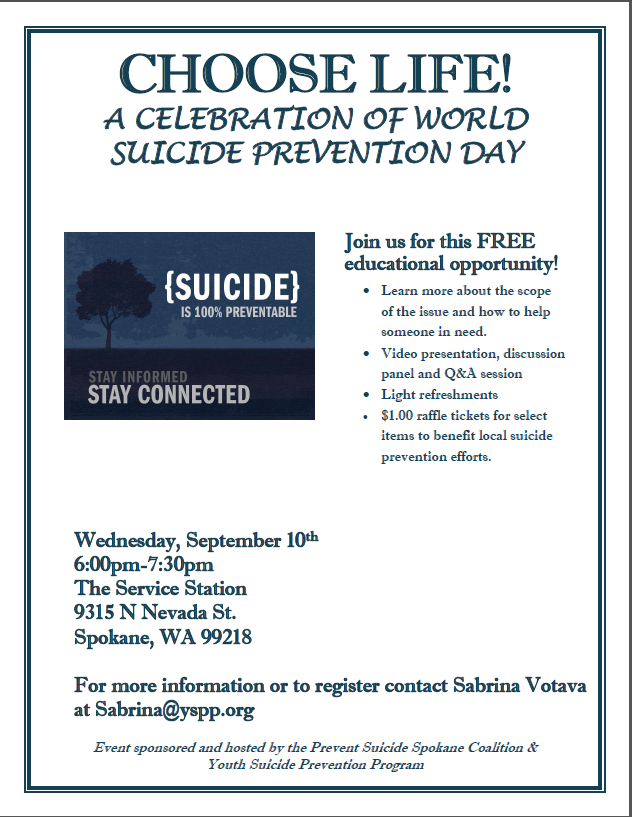 Suicide Prevention Day | InfoLink