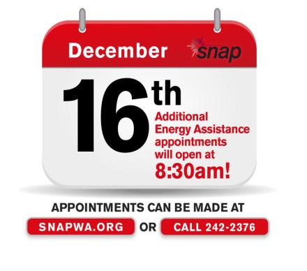 energy assistance appt