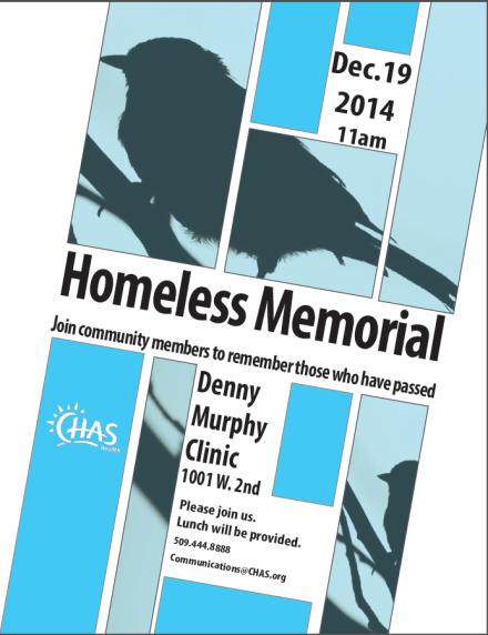 homeless memorial