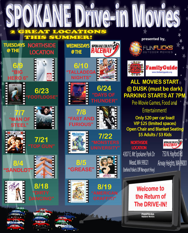 Spokane Drive-in Movies are Back! | InfoLink