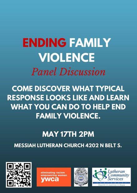 ENDING FAMILY VIOLENCE